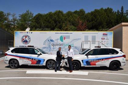 Empresas.- El hospital móvil de QuirónSalud estará en 12 circuitos durante Mundial de MotoGP 2018