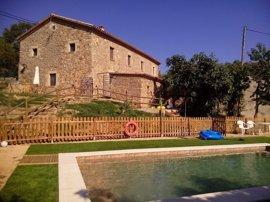 Baleares lidera la ocupación en casas rurales en julio, con un 48,6%