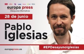 Aquí puedes ver la intervención completa de Pablo Iglesias en los Desayunos Informativos de Europa Press