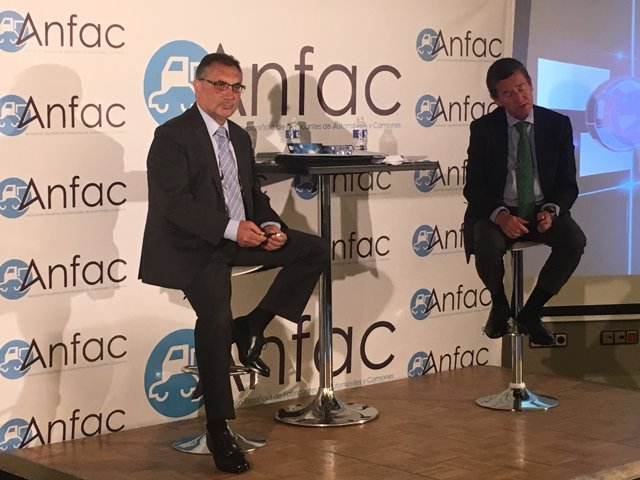 El presidente de Anfac, Antonio Cobo, y el vicepresidente, Mario Armero