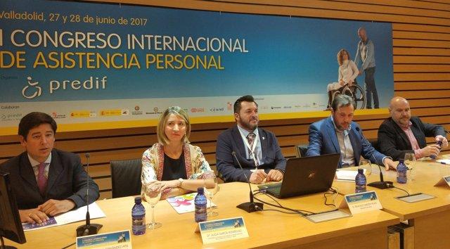 Inauguración del I Congreso Internacional de Asistencia Personal