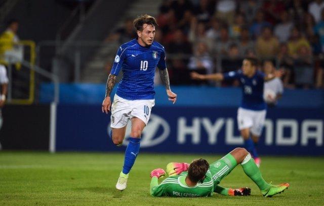 Italia, rival de España en semifinales de la Eurocopa Sub-21
