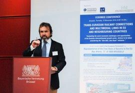 El consejero de Fomento avanza que el funcionamiento comercial del AVE a Murcia comenzará en el primer semestre de 2018