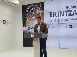 Diputación de Gipuzkoa destina más de 1,5 millones de euros a apoyar a emprendedores este año