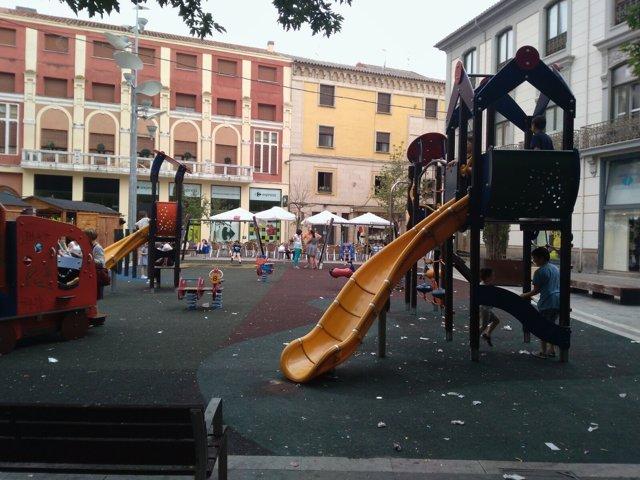 Un espacio de Zamora afectado por la suciedad.