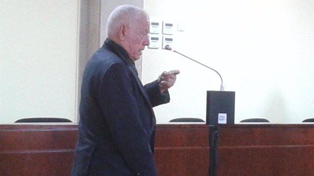 El acusado declarando