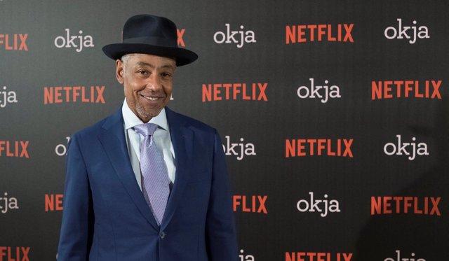 Giancarlo Espósito cisita Madrid para presntar Okja, la nueva película de Netfli
