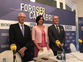 """Igual cree que a Santander le """"iría mejor"""" si el Gobierno la viese como parte de Cantabria"""