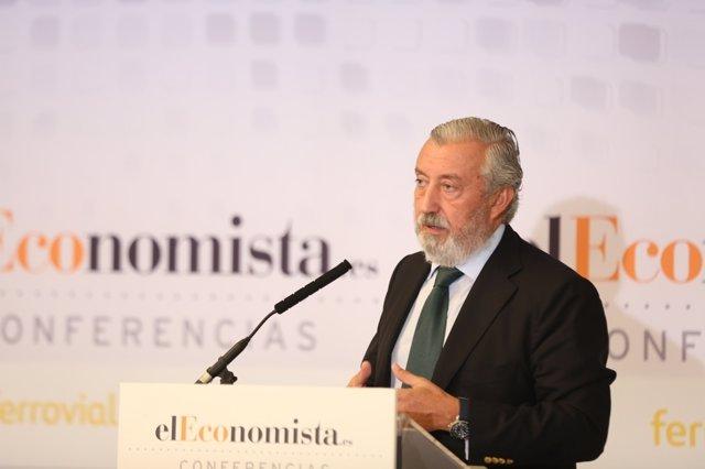 Julio Gómez-Pomar interviene en una jornada sobre infraestructuras