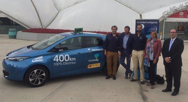 El vehículo del proyecto 'Mi ciudad inteligente'