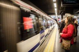 Servicios mínimos de hasta el 75% en la huelga de Metro convocada por el sindicato de Maquinistas a partir de mañana