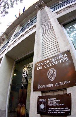 Fachada De La Sede De La Sindicatura De Comptes