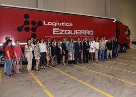 """Ceniceros dice que ampliación de 'Logística Ezquerro' implica """"asentar la actividad económica y empleo en La Rioja"""""""