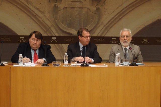 Trabajos del grupo para la reforma de la Ley Electoral