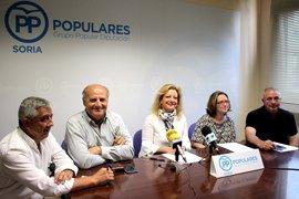 PP de Soria podría expedientar a seis diputados si no apoyan al nuevo portavoz
