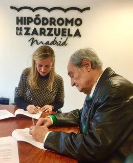 Firma del acuerdo para la Biblioteca Miguel Ángel Ribera