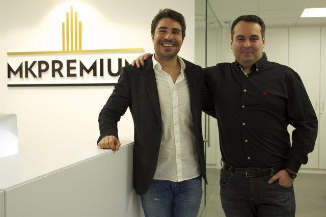 Daniel i Sergio Leiva, socis fundadors de la immobiliària Mk Premium