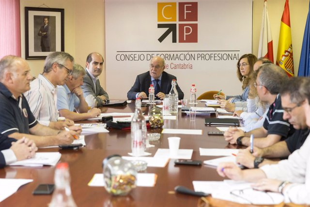 Reunión del Pleno del Consejo de FP