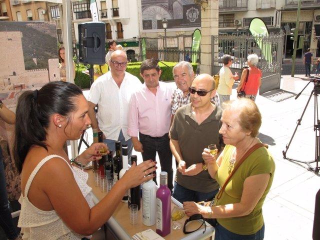 Acción promocional 'Andalucía descubre su paraíso'.