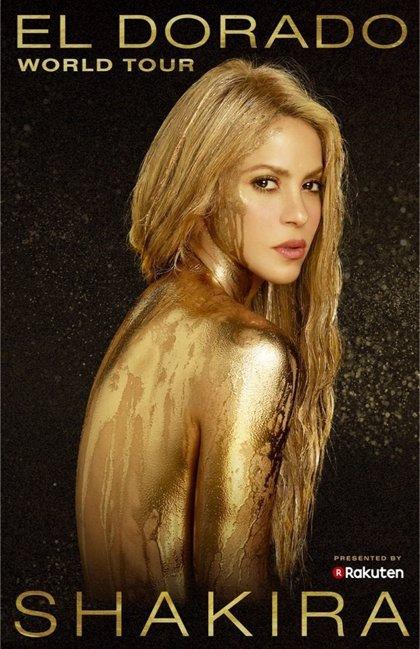 Shakira anuncia las 33 primeras fechas de su nueva gira mundial