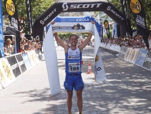 Daniel García, campeón de España de Carreras por Montaña en Línea