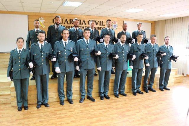 Guardias Civles en Asturias