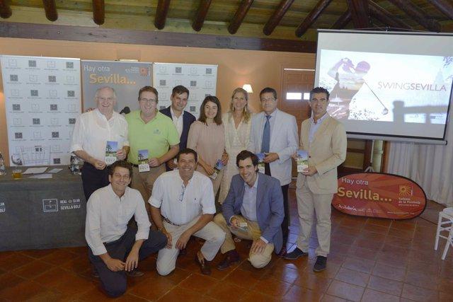 El golf está en auge en la provincia de Sevilla.