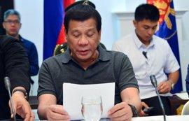 Duterte reaparece tras sus últimas ausencias en actos oficiales