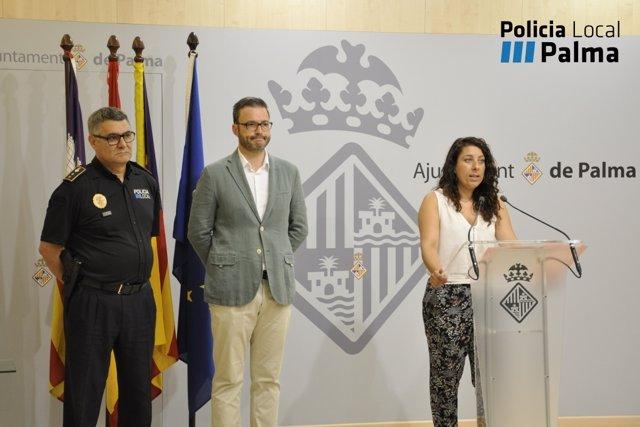 José Hila, Angélica Pastor y Josep Palouzié