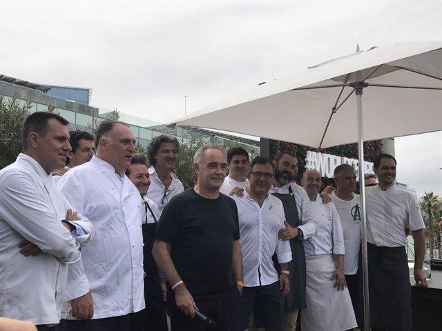 Celebración del 15 aniversario de la lista 'The World's Best 50 Restaurants'