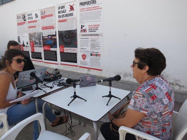 Radio itinerante debate en Córdoba sobre el estado del derecho a la comunicación