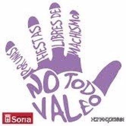 Cartel de la campaña contra el machismo en las fiestas de Soria