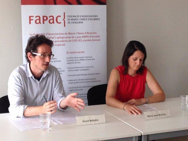 David Mallafré Y  Maria José Morillas De La Fapac