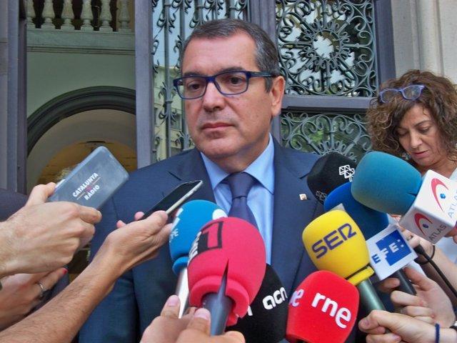 El conseller Jordi Jané