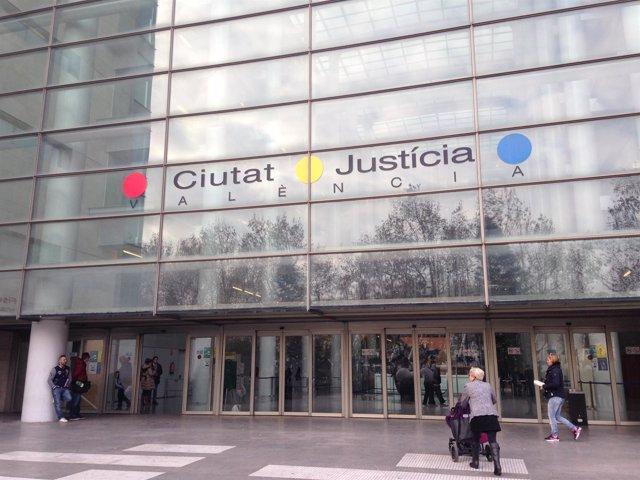 Imagen de la Ciudad de la Justicia de València