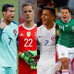 Montaje semifinales Copa Confederaciones
