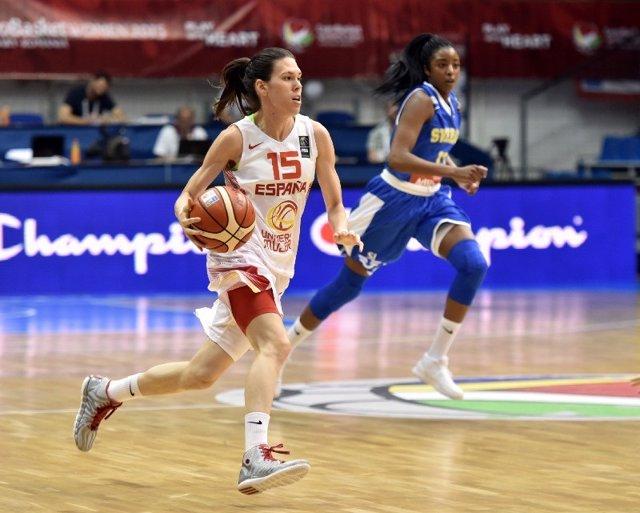 Anna Cruz, España vs Suecia