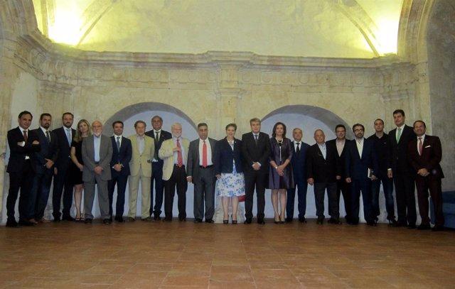 Galardonados en los Premios Salvar el Archivo.