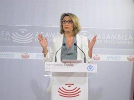 """El PP define la intervención de Vara como la """"constatación"""" de que """"ha tirado la toalla"""" de la legislatura"""