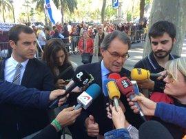 """Artur Mas ve el referéndum como """"la culminación de un proceso estrictamente democrático"""""""