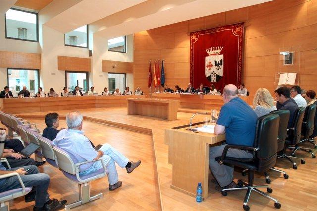 Pleno del Ayuntamiento de Alcobendas