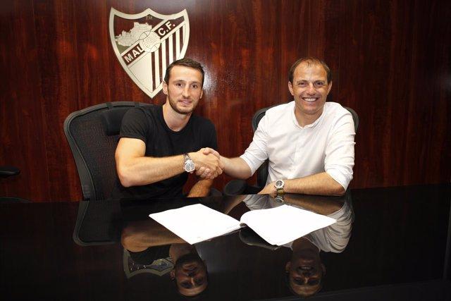 Paul Baysse firma por el Málaga