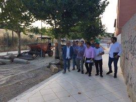 La Diputación financia el 70% de la adecuación de la calle Fuente de la Mimbre de Jaén