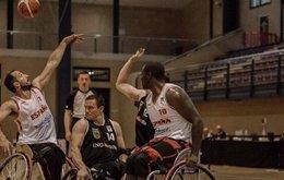 La selección española en silla de ruedas en el Europeo de Tenerife