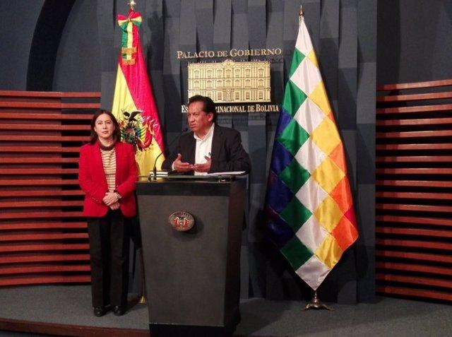 Ministro de la Presidencia, René Martínez