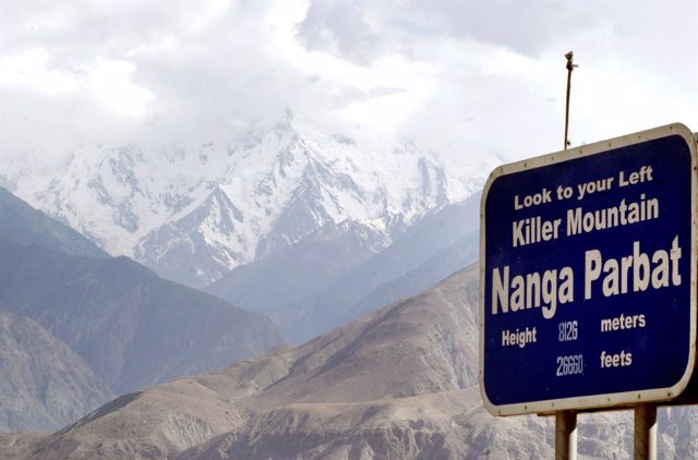 Nanga Parbat, 'La Montaña Asesina', Pakistán
