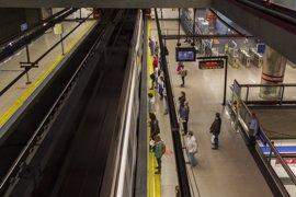 Arranca la huelga ininterrumpida de 5 días convocadas por el sindicato de Maquinistas de Metro