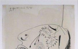 La Casa Revilla de Valladolid expone desde este viernes los dibujos preparatorios de Picasso para el Guernica
