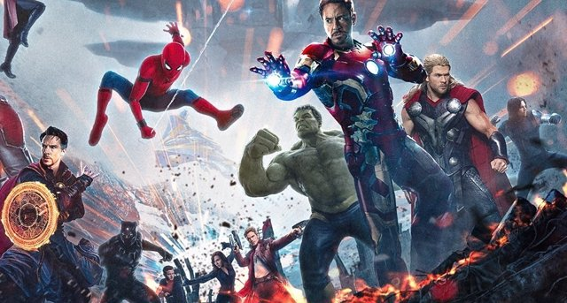 Póster no oficial de Avengers: Infinity War