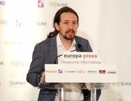 """Pablo Iglesias avisa de que """"España no es sólo Monarquía ni Estado español"""""""